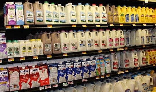 Den genomsnittliga amerikanen förbrukar varje år 620 pounds av mejeri.