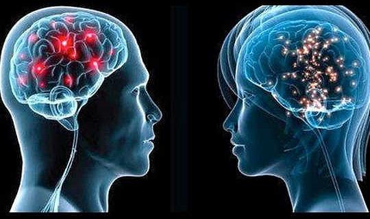 Metabolisch haben Frauen jüngere Gehirne als Männer