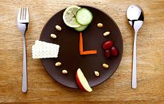 Vertraag Ontbyt en eet aandete vroeg as jy liggaamsvet wil verloor
