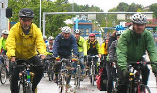 自行車上下班能改善健康和減緩氣候變化