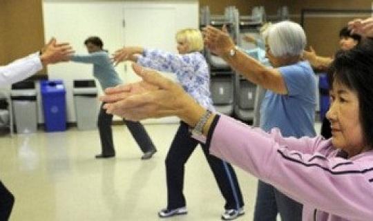 太極拳對老年人帶狀皰疹病毒的免疫力增強