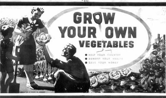 """Är det dags att återuppta världskriget """"Grow Your Own"""" -kampanj?"""