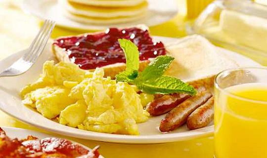 Если вы едите завтрак?