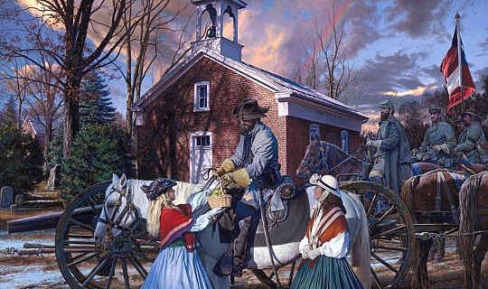 Hoe Die Amerikaanse Burgeroorlog Gesementeerde Moderne Kersfees Tradisies