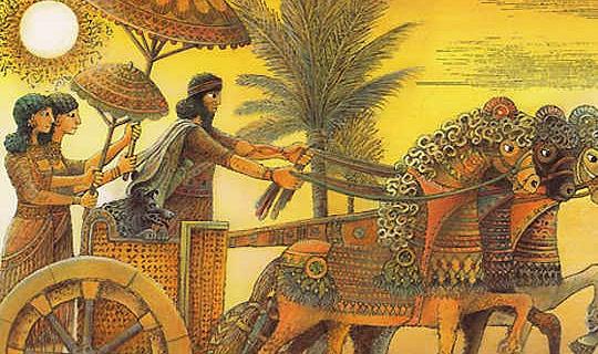 Zwischen Göttern und Tieren: Mensch werden im Gilgamesch-Epos