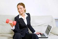 Hoe oefening kan jou werkplek welstand vinnig opspoor