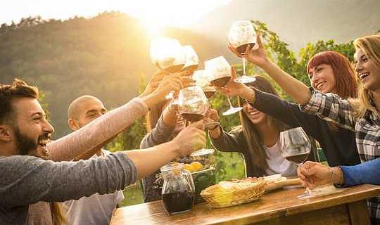 Varför ett glas rött vin är bra för din tarm