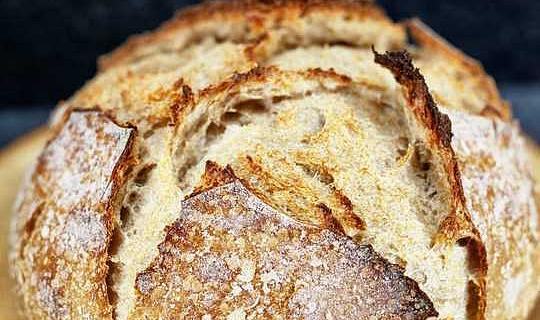 Hamur Ekmeği Ekmeği Yapmak