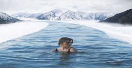 Kann eine Winterschwimmkur zum Abnehmen führen?