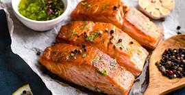 Omega-3's: die verbruik van meer vetterige vis kan asma by sommige kinders voorkom